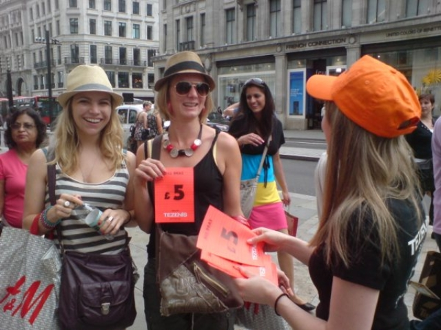 Street Flyering Teams London