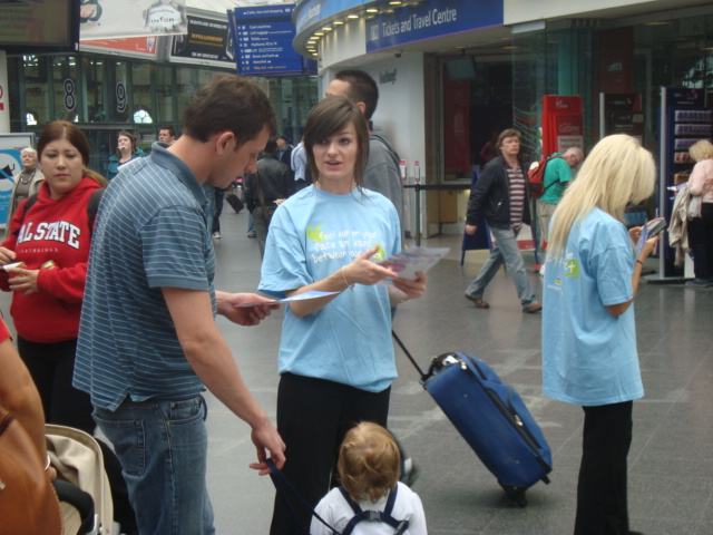 Flyering Staff London